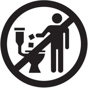 Do not flush